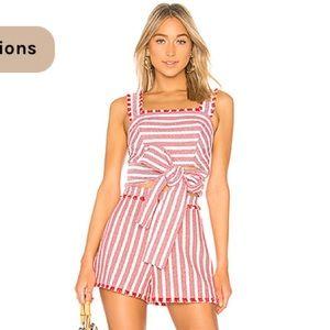 🌺SET🌺Alexis Stripe Shorts set. Size Small